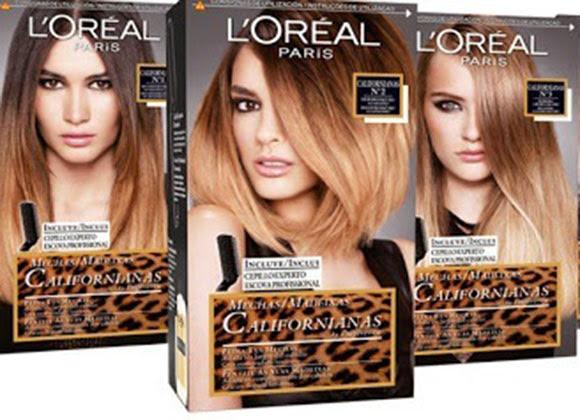 mechas californianas 2014 loreal peinados