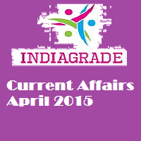 Current Affairs 3rd April 2015