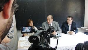 Beatriz Gentile, Raúl Zaffaroni y Marcos Muñoz