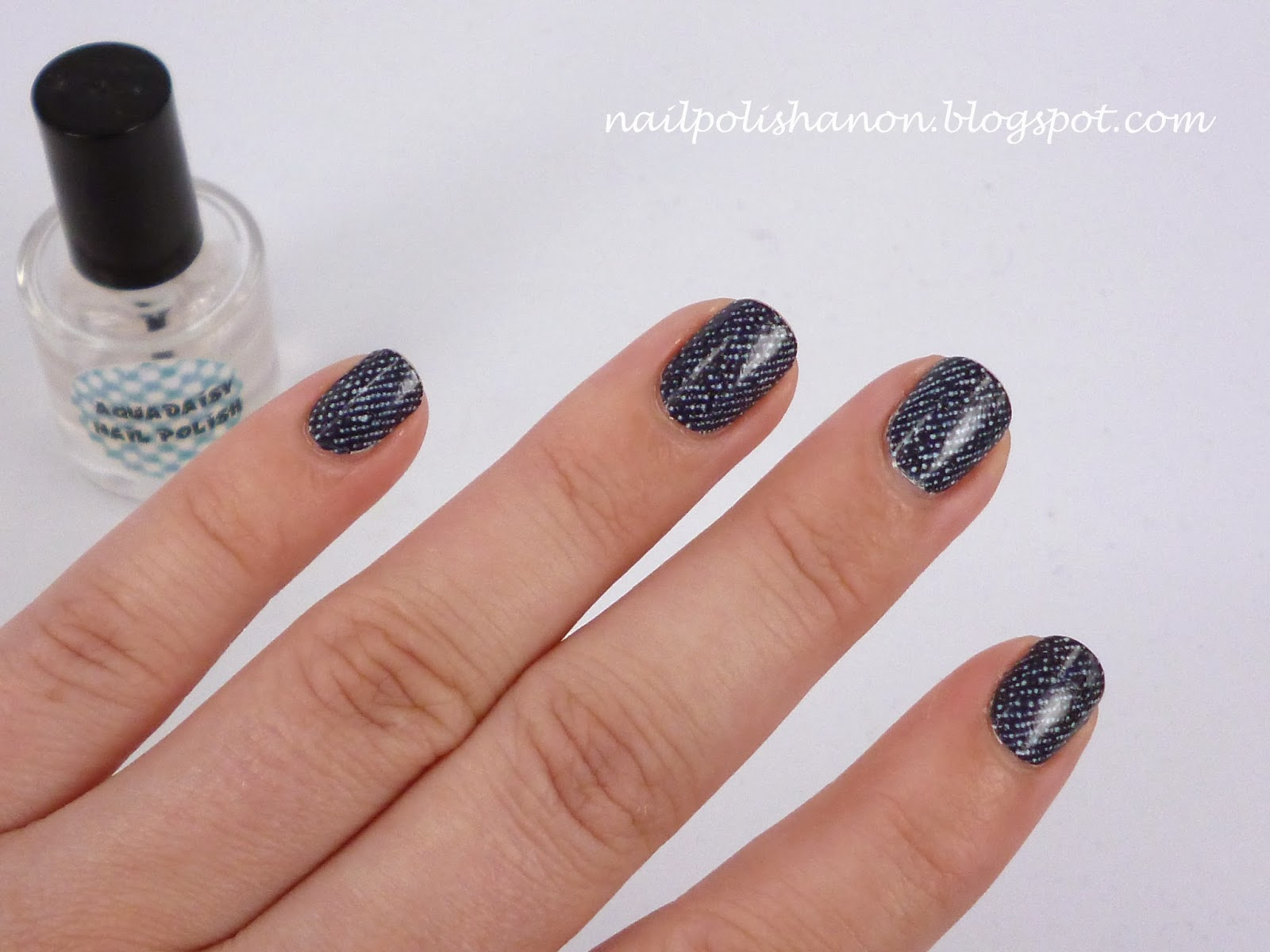 how to get nail polish out of denim
