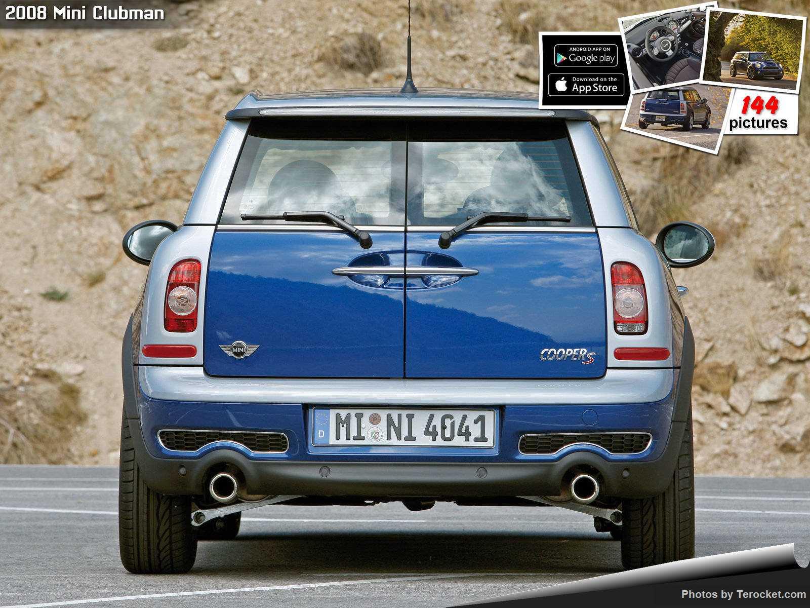 Hình ảnh xe ô tô Mini Clubman 2008 & nội ngoại thất