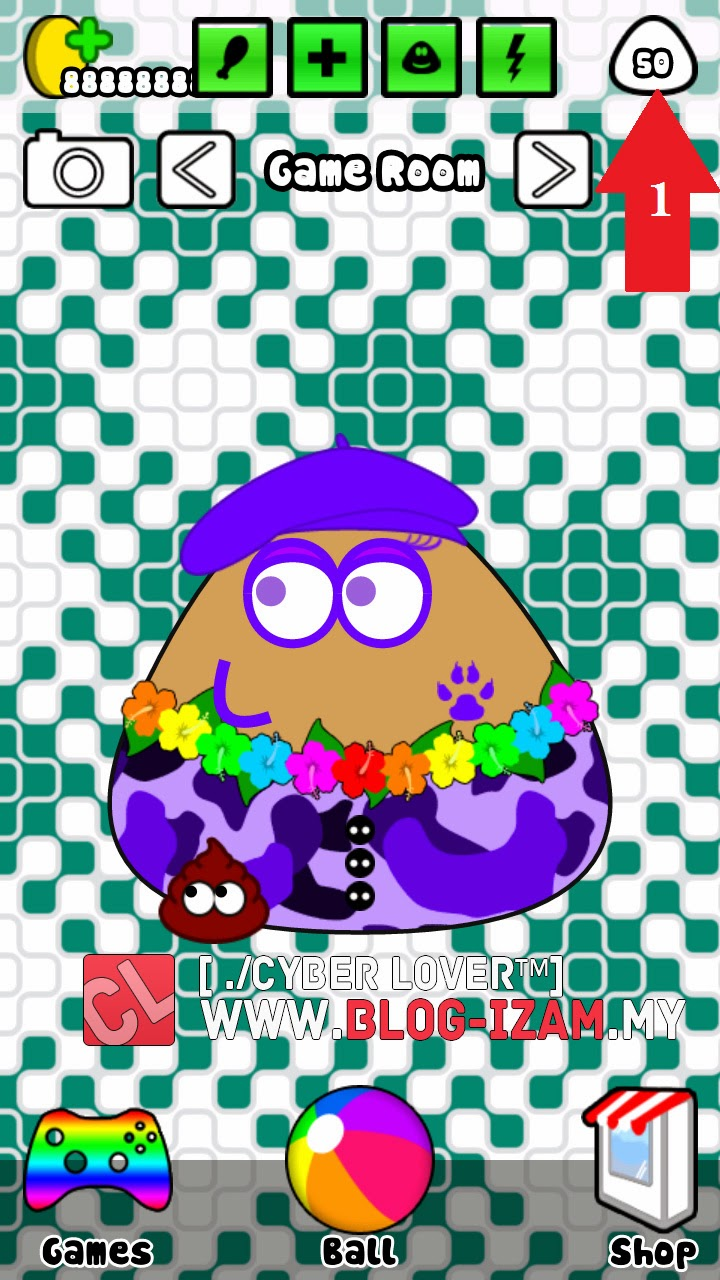 UPDATE] Pou Hack - Unlimited Coins Tanpa Root