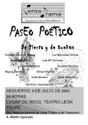 Paseo Poético 'De tierra y de sueños' - Sequeros 9 de julio 2011