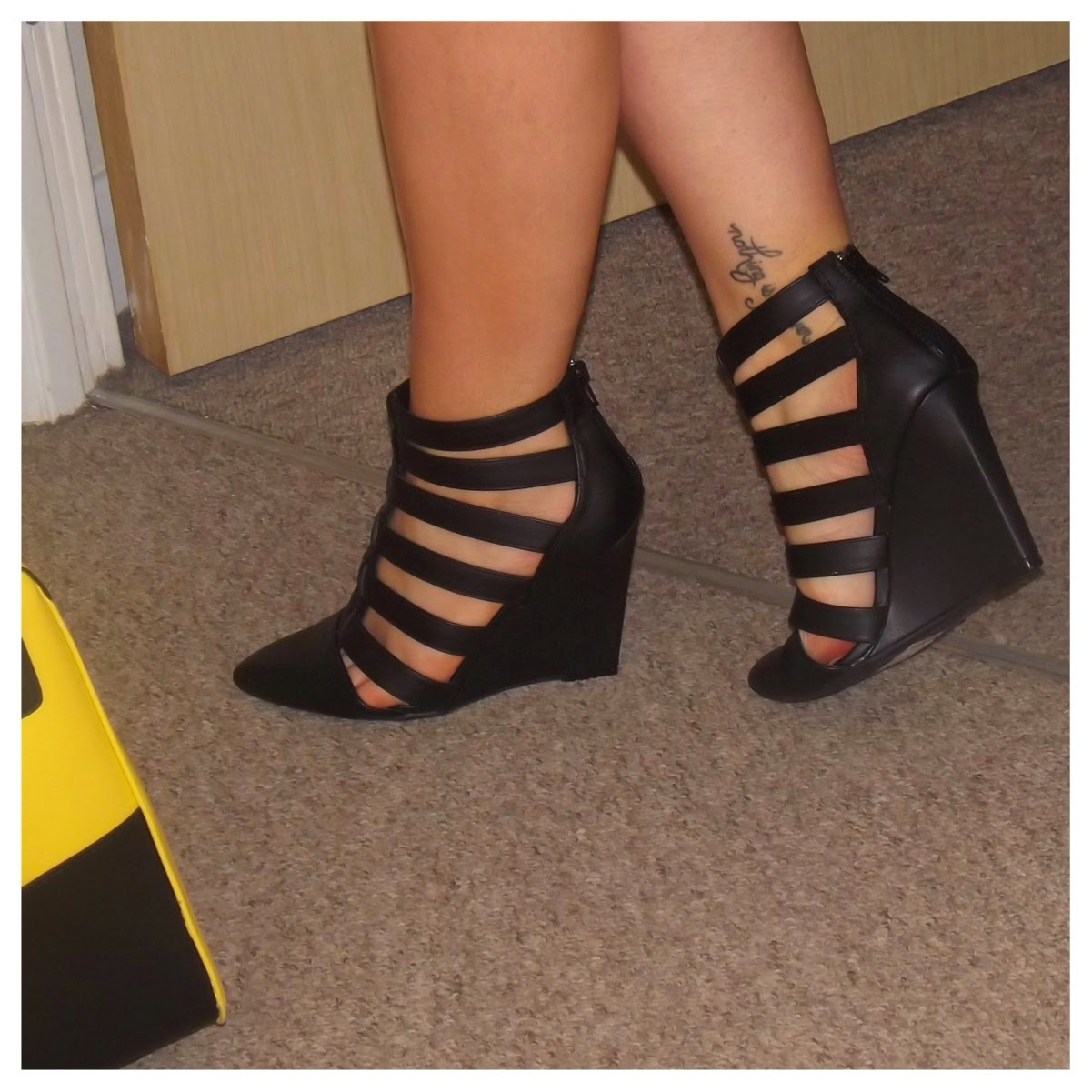 New Look black heels