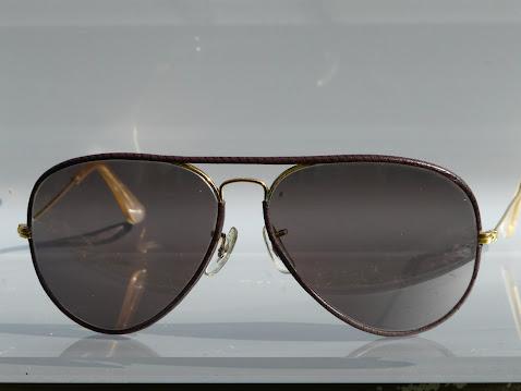 Aviator leather (cuir) années 70 - verres photochromiques - 139 euros