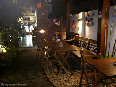 Vivagula! da Barra: Ambiente externo