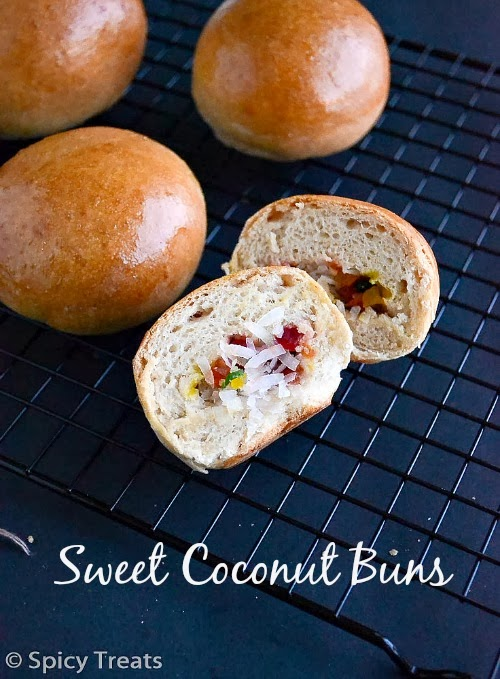 Coconut Sweet Buns
