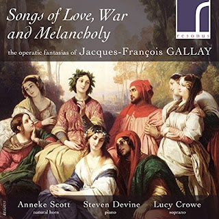 Songs of Love, War and Melancholy - Jacques-Francois Gallay