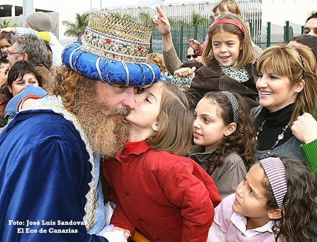 La hora de llegada de los Reyes Magos 2016 a Las Palmas de Gran Canaria