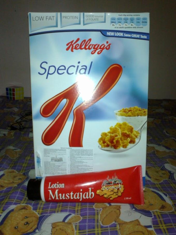 Kellogg's Speacial K & Lotion Mustajab