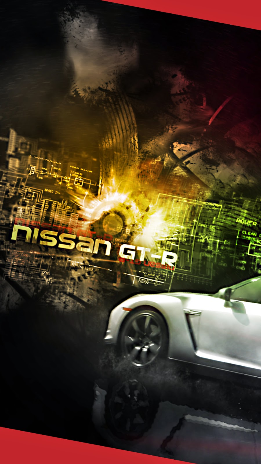 Smartphone HD Wallpaper Cool Nissan GT R Androidismo