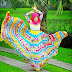 Berapa Meter Kain Untuk Fesyen Skirt Ala-Ala Dian Pelangi