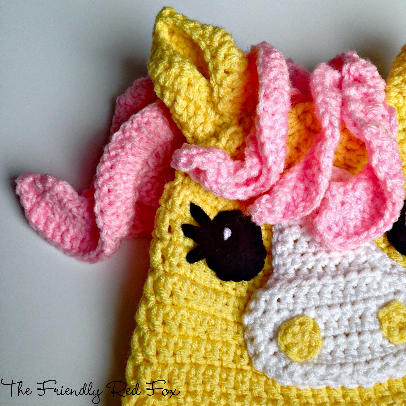 Free Crochet Little Pony Hat - thefriendlyredfox.com