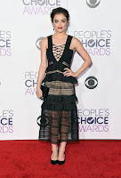 Lucy Hale People's Choice Awards 2016 red carpet dresses
