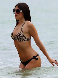 CLAUDIA ROMANI on Miami Beach