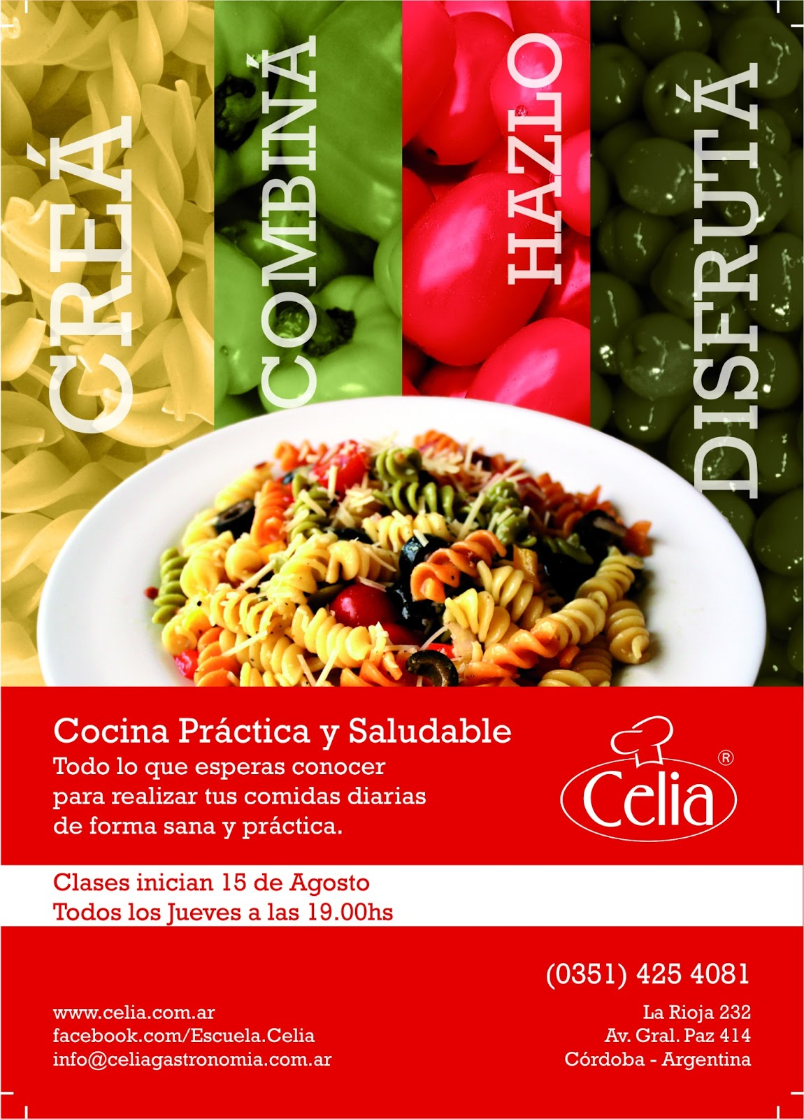 Celia Escuela Integral Gastronomica Julio 2013