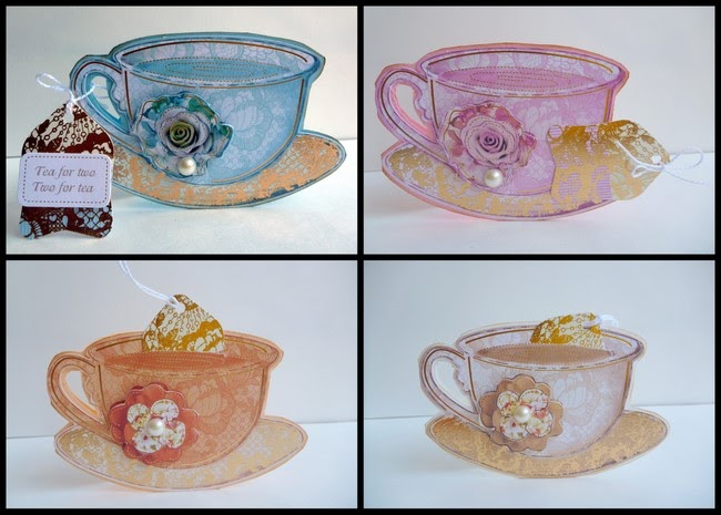 Time for tea card set kanban crafts for Michaels crafts wausau wi