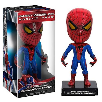 The Amazing Spider-Man Wacky Wobbler Bobble Head by Funko
