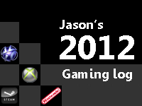 2012 Gaming Log