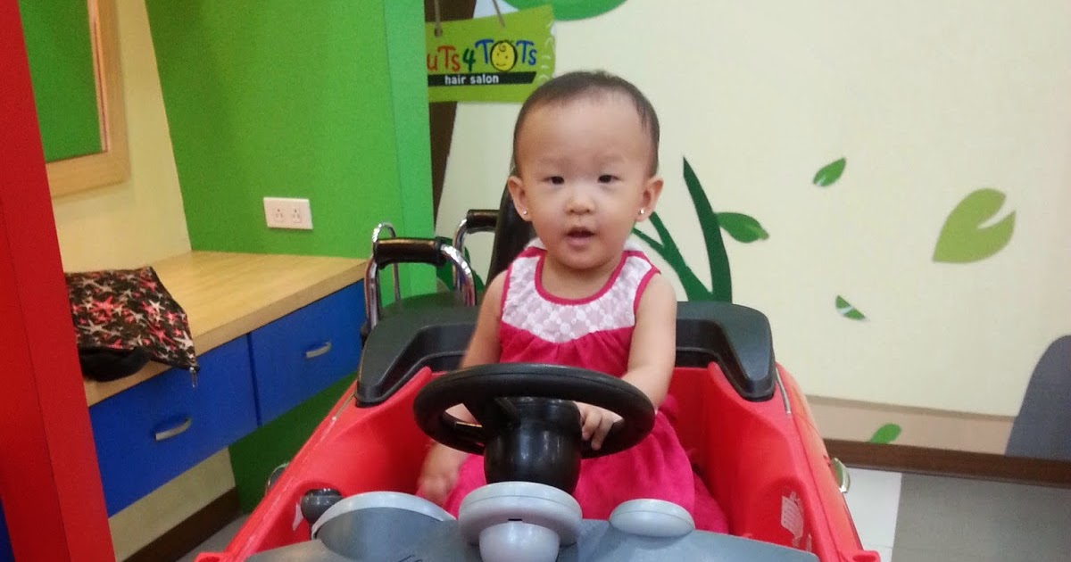 The Binondo Mommy Babys First Hair Cut At Cuts 4 Tots