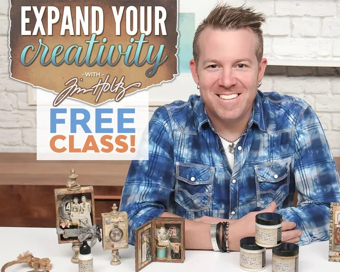 Take a Free Class with Tim Holtz!