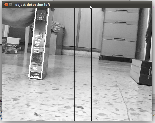 Robot control using opencv and arduino computer vision