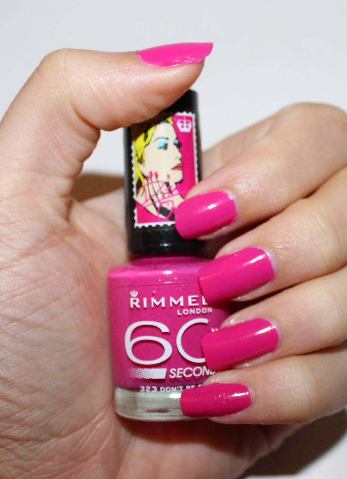 Rimmel 60 Seconds Nail Polish Swatches - Creative Touch