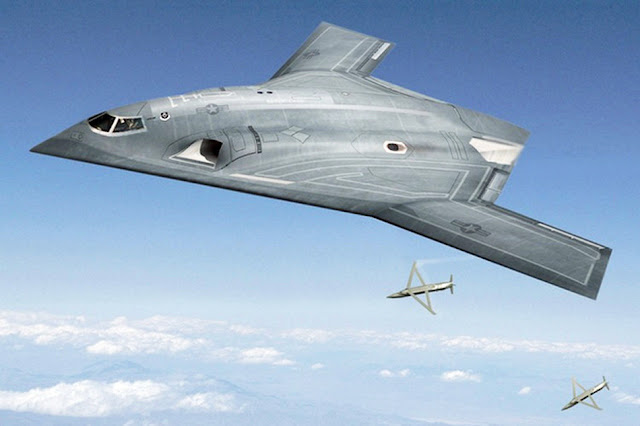 Northrop Grumman concept for Long Range Strike Bomber, aka the B-3