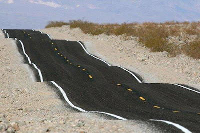 Imagine driving on this road