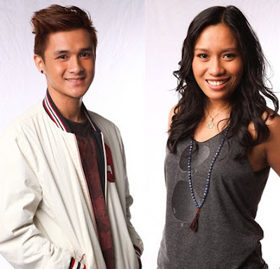 Paolo Onesa and Lee Grane - Team Bamboo of The Voice of the Philippines