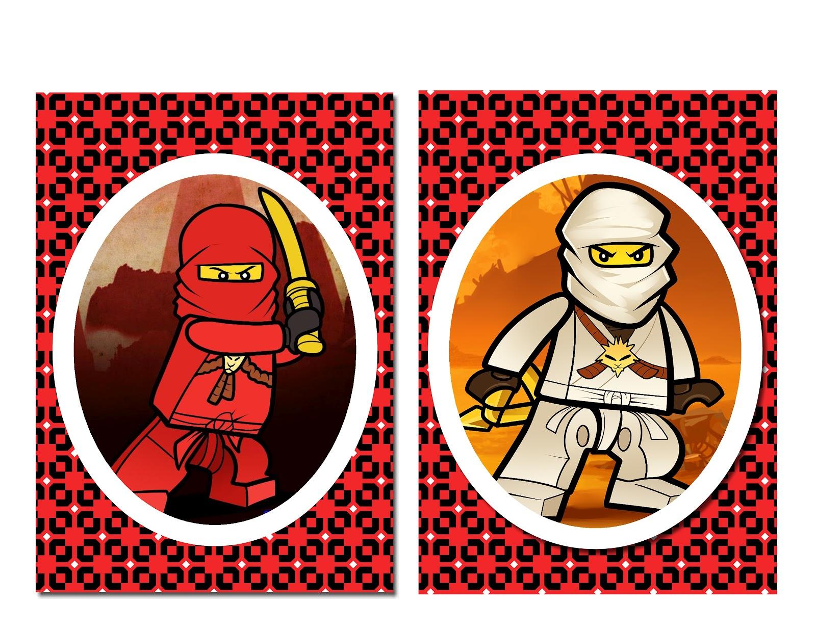 Just Random Thoughts: Lego Ninjago Party