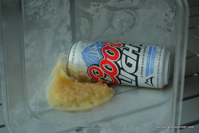 Freezing Beer For Your Cooler