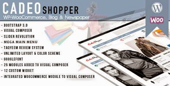 CadeoShopper - Multipurpose WooCommerce Magazine WordPress Theme