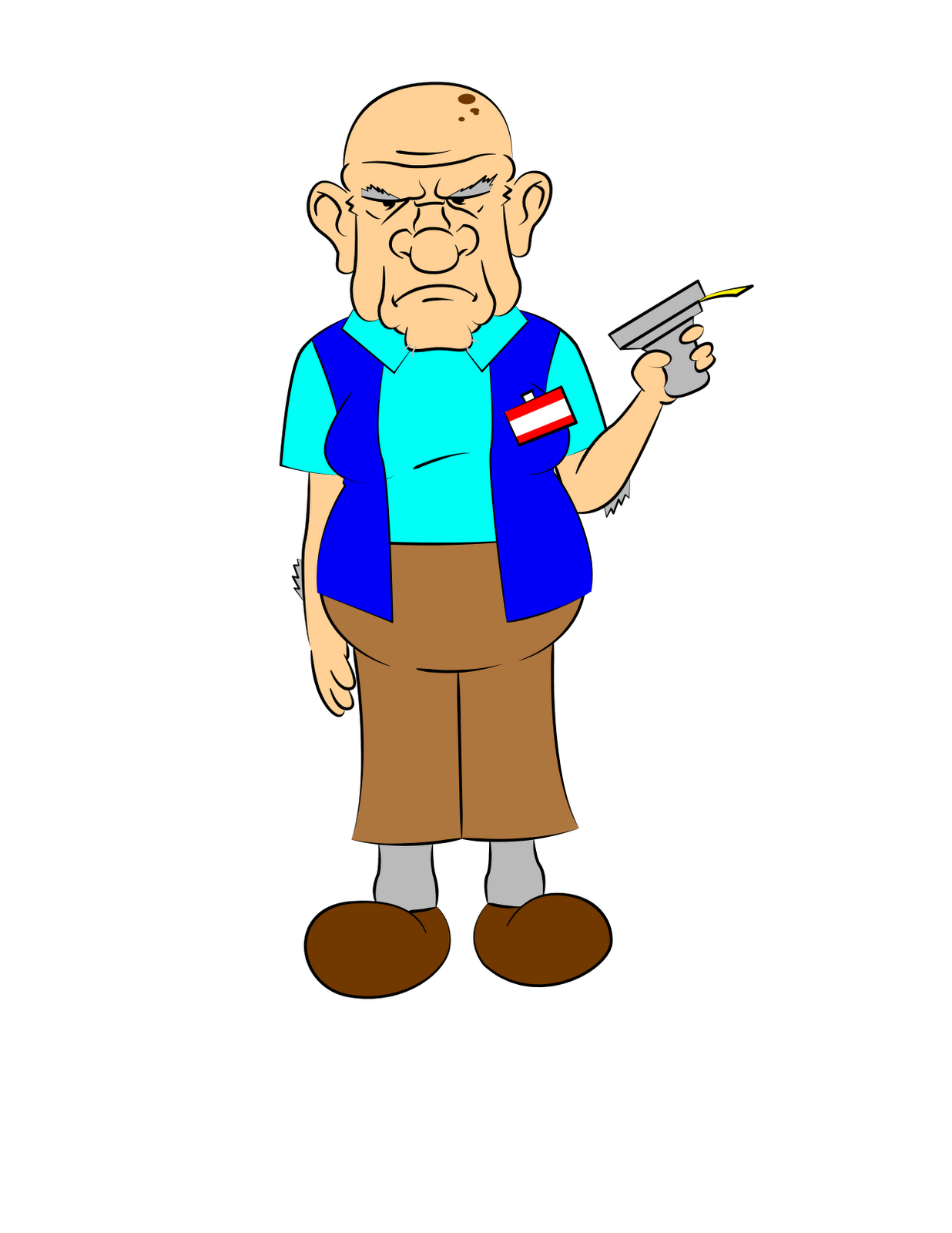 This is a collection of images I did just to play around with. I drew the old man Jerry as a door greeter. I then changed it up a bit and made ...  sc 1 st  Blogger & Blue Phoenix Designs