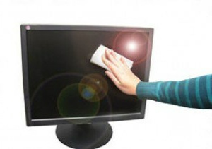 cara merawat monitor lcd, led, komputer tv