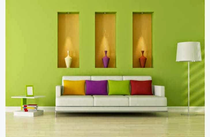 Tips on choosing a paint color for minimalist home interior