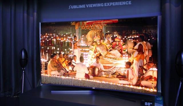 Обзор Samsung JS9 супер-UHD-телевизор и новинки телевизоров 2015 года модельный ряд