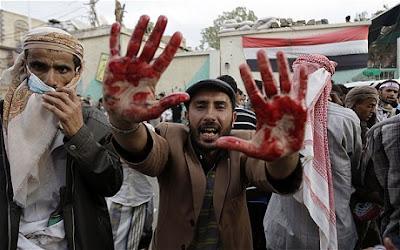 la proxima guerra manifestaciones yemen