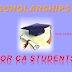 SCHOLARSHIPS BY ICAI TO CA STUDENTS FOR OCTOBER