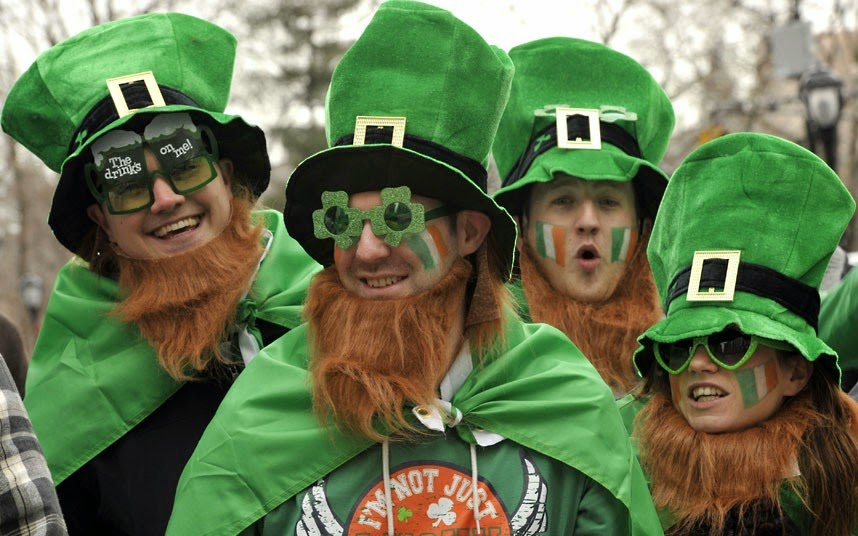 Where to go to Celebrate Irish St Patricks Day in London Trafalgar Square