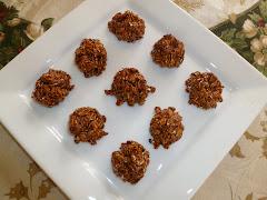 Oatmeal-Sesame Tahini Cookies