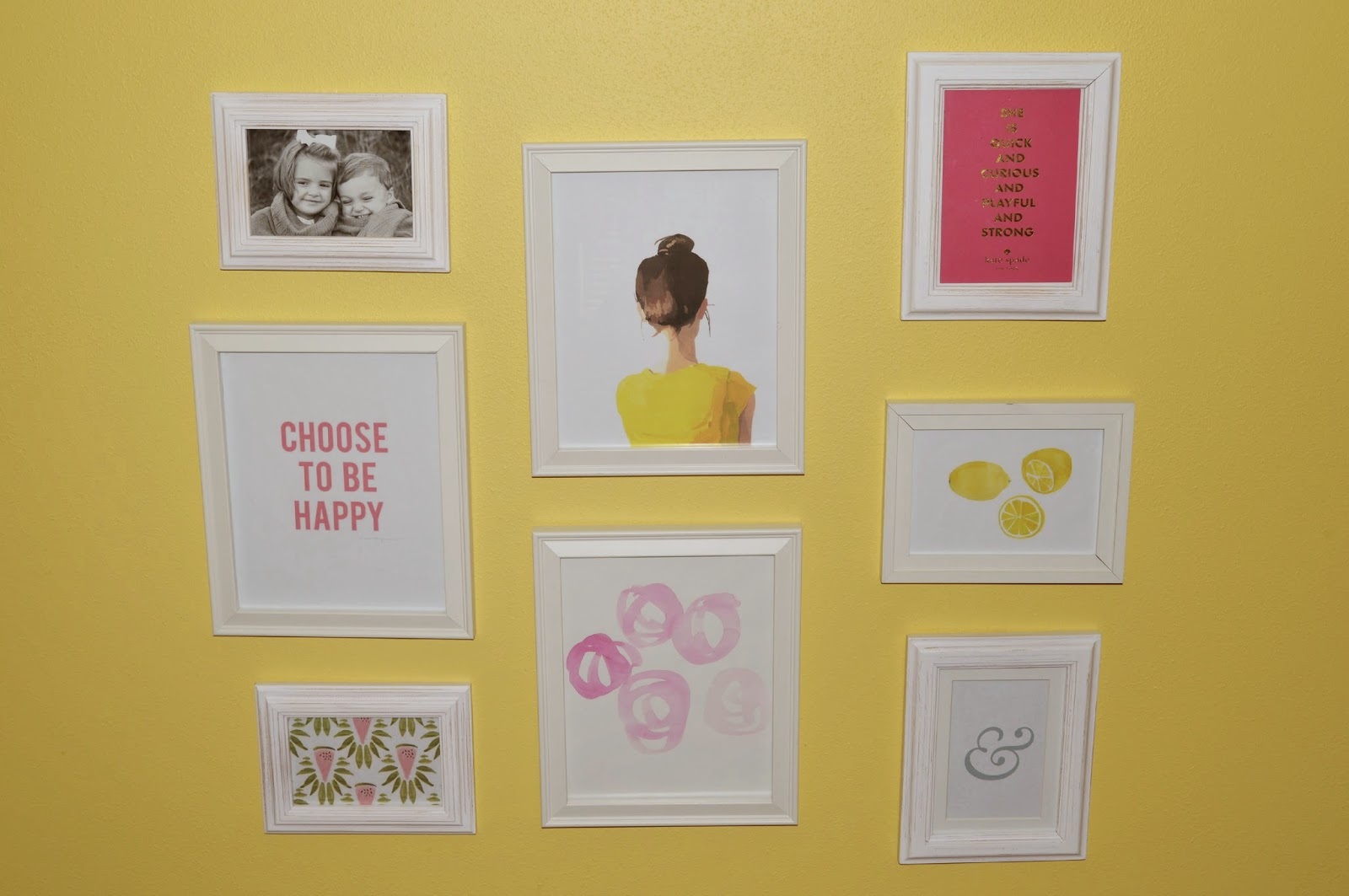 citrus and style: My Gallery Wall