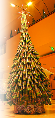 How To Make A Tinsel Christmas Tree