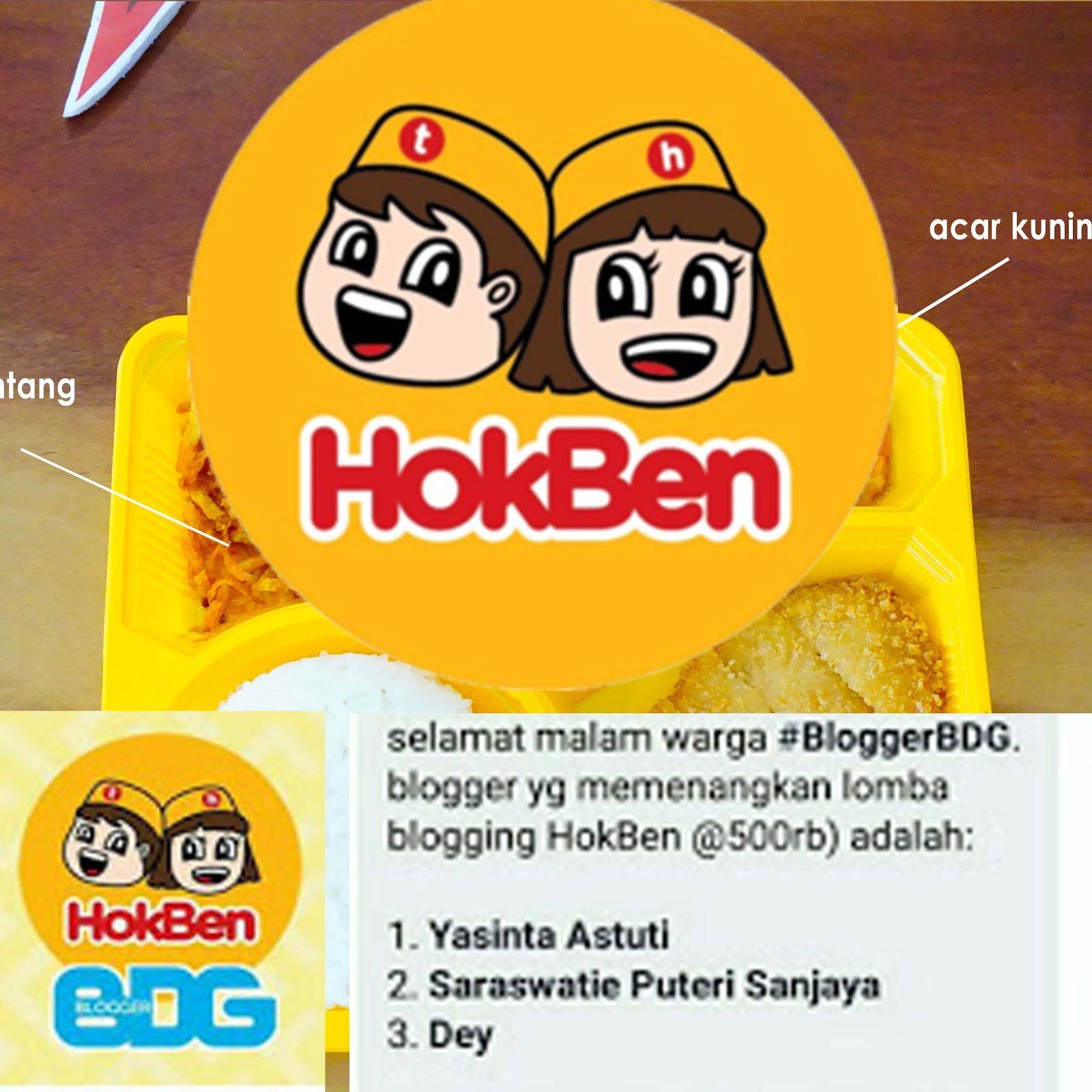 HokBen Blog Competition
