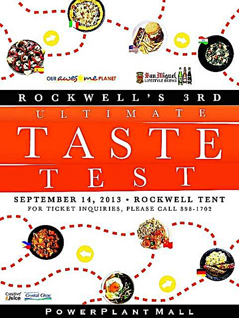Ultimate Taste Test 2013 At The Rockwell Tent
