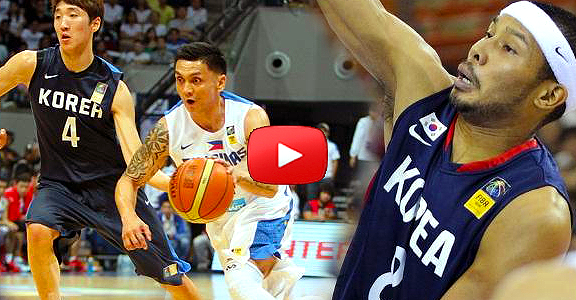 Gilas Pilipinas vs. South Korea (Complete Replay Video) Asian Games 2014
