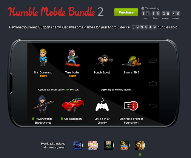 4 juegos para Android por solo 1 centimo de dolar
