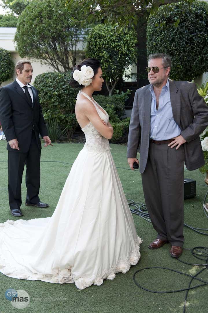 Foto de la boda de Teresa (Angelique Boyer, Sebastian Rulli)