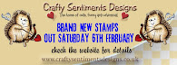 Crafty Sentiments Designs - February New Release