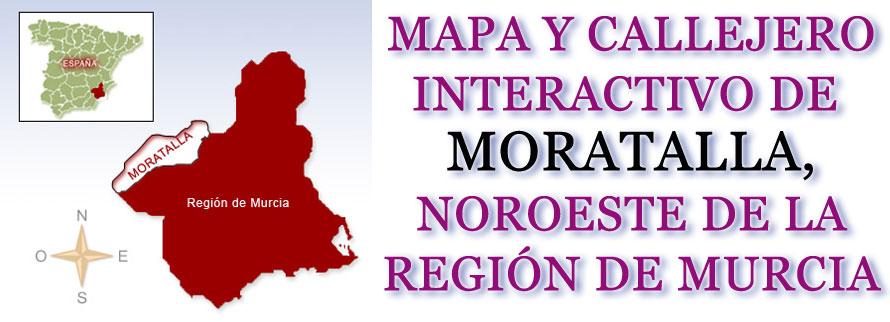 MAPA Y CALLEJERO INTERACTIVO DE MORATALLA: